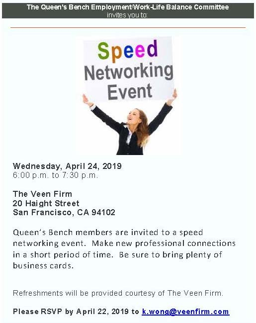 Invitation speed networking event Speed Networking: